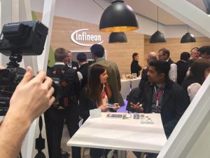 Ruwanga Dassanayake at the GSMA Mobile World Congress