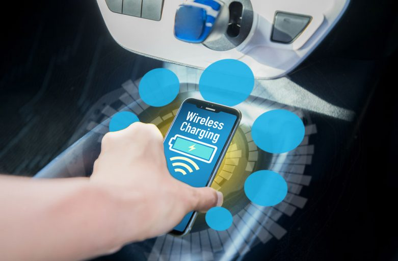 EMI in-cabin wireless charging Spark Connected