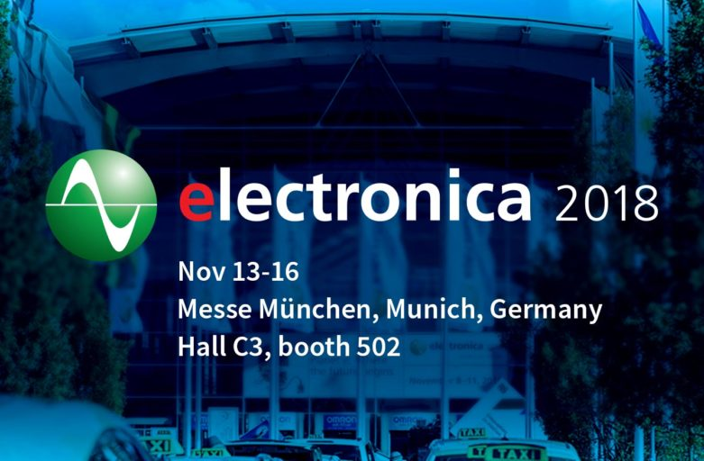 Meet Spark Connected at electronica 2018 - Nov. 13-16, 2018