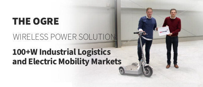 Spark Connected and gapcharge Partner on 100w+ Wireless Charging for Industrial Logistics and Electric Mobility Markets