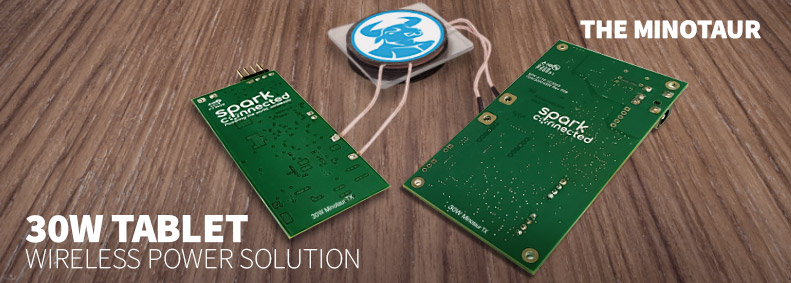 The Minotaur - A Breakthrough 30W Tablet Wireless Charging Solution