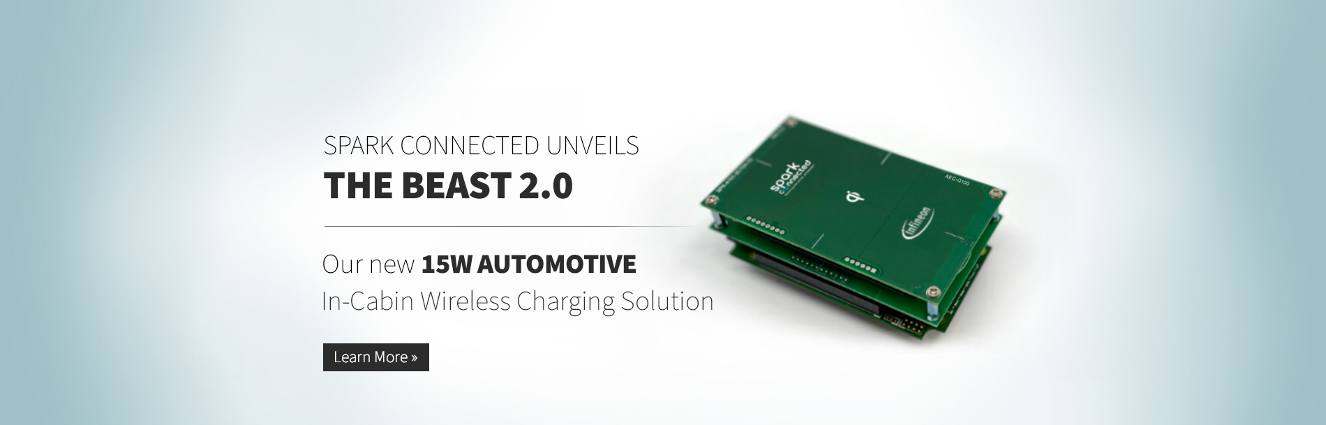 Spark Connected Unveils new Qi 15W Automotive In-Cabin Wireless Charging Solution Powered by AURIX™ and Traveo™ II