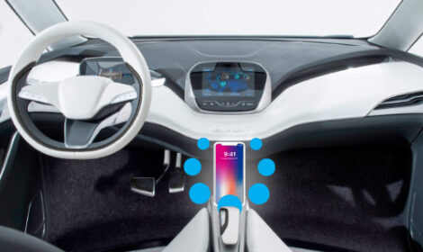The Beast 2.0 - Qi 1.3 Automotive in-cabin Wireless Charging transmitter